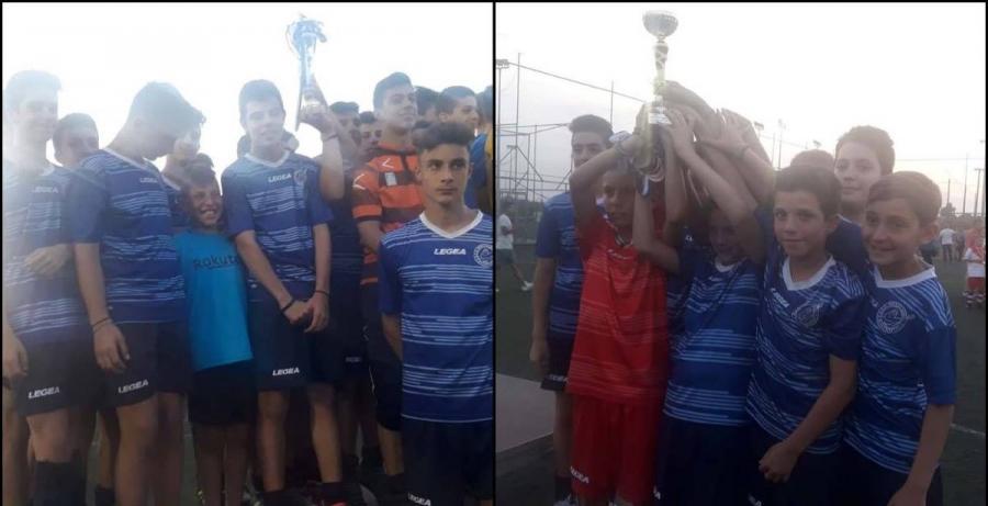 Στην κορυφή του FAIR PLAY CUP 2018 το παιδικό και το προπαιδικό (2006) του Ποσειδώνα! (photos)