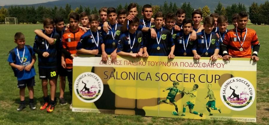Πρωτιά για τους παίδες, έλαμψε το μέλλον του Ποσειδώνα στο Salonica Soccer Cup 2017 (photos)